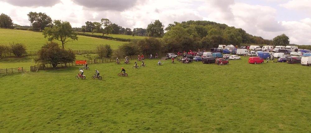 Loughborough trials club charity bike trial