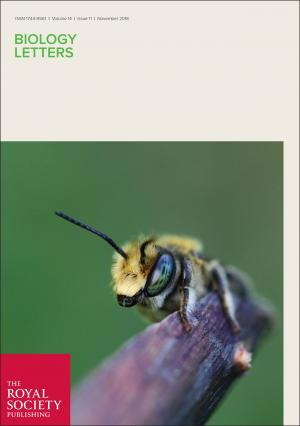 November issue of Biology Letters 2018.