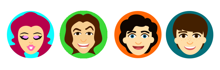 Emoji design for TeenNick