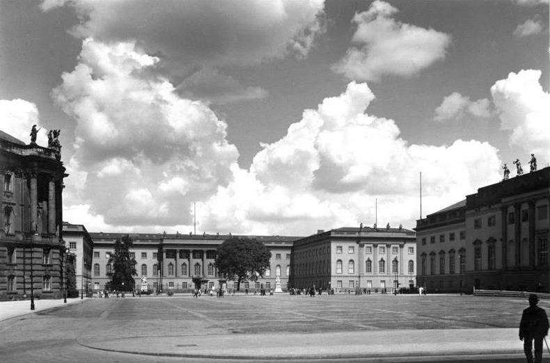 The University of Berlin in 1938.