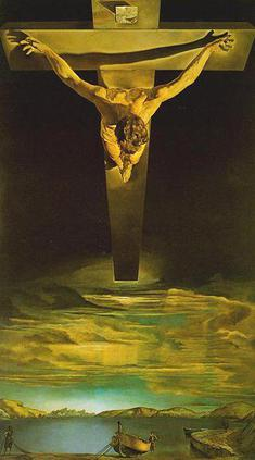 Salvador Dali,  Christ of Saint John on the Cross .