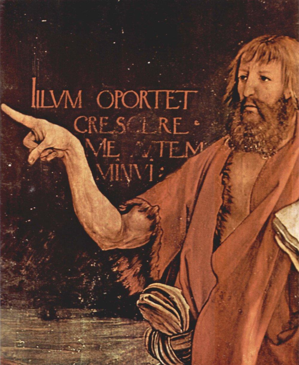 Matthias Grünewald,  Isenheim Alterpiece  (detail).