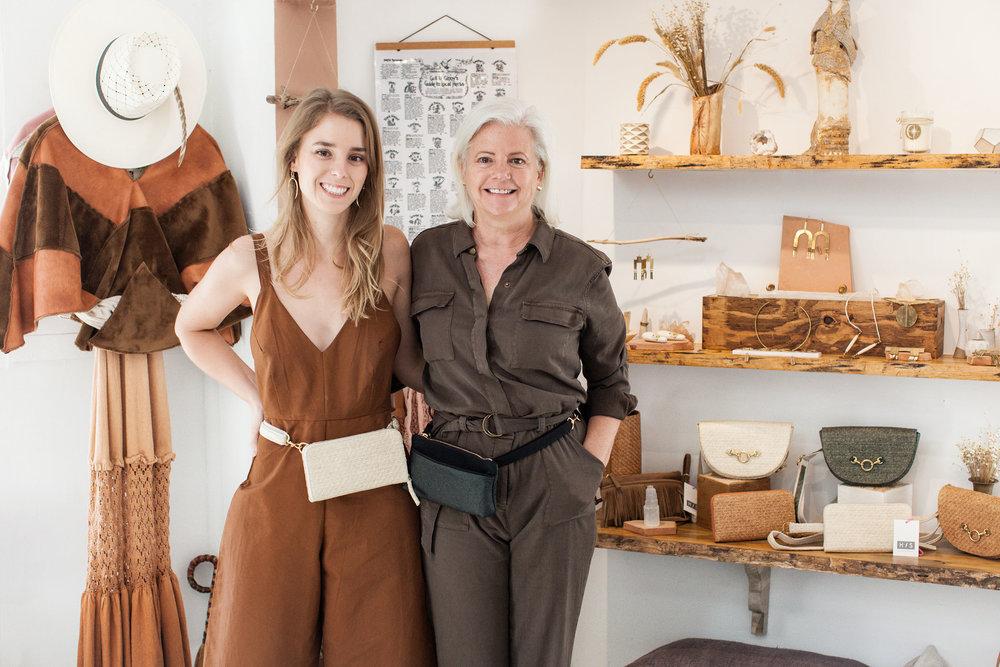 Rachel and Debra Denison | HFS Collective | Sustainable Fashion