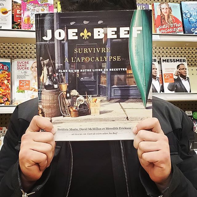 JOE BEEF... . . . . . #onthewishlist #joebeef #survivingtheapocalypse #mtlfood #goat #cookbooks #chefintraining #wheretoeat #canadianchefs #whattocook