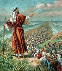 The Lord opens the Red Sea Through Moses Leadership.