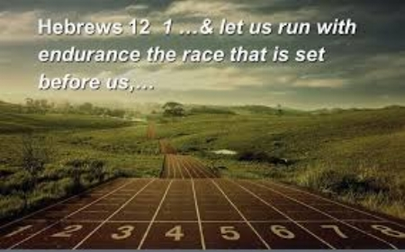 We let go of stuff that hinders us, so we can run the race of faith. We look to Jesus and not at our circumstances to inspire us . Pastor Dan will be speaking on this subject Sunday from  Hebrews 12:1-3, which is the capstone to Hebrews 11 :  The Faith Chapter . He will share the encouragement and support for running the race of faith in the New Year. Come be encouraged by the perfect text for this inspiring New Year's message.