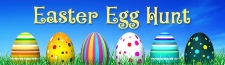 Children's Sunday School Easter Egg Hunting at 9:30 a.m.