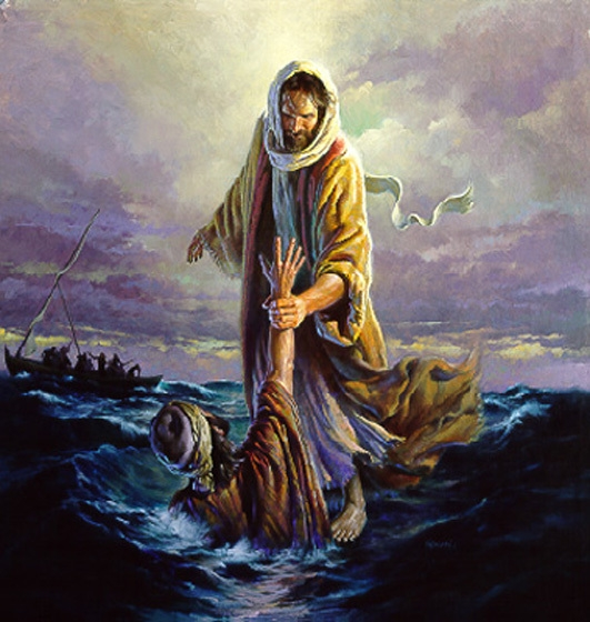 Jesus caught Peter, when he took his off of him and begin to sink. The miracle of Walking on Water has more to do with us than just actually happening. There are important spiritual principles that help us in our walk with the Lord. We all need to focus on Christ if we are following Him. He can sustain us and pick us up when we fall. These great truths will be explored by Pastor Dan. Don't miss it, there are some great  lessons in this wonderful miracle.