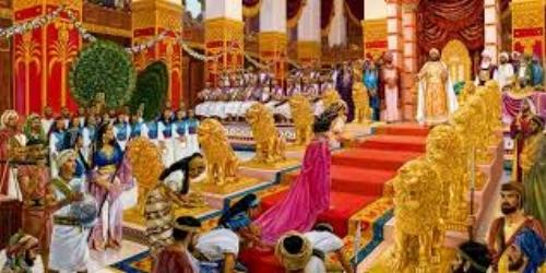 Solomon's Court in all it's Splendor