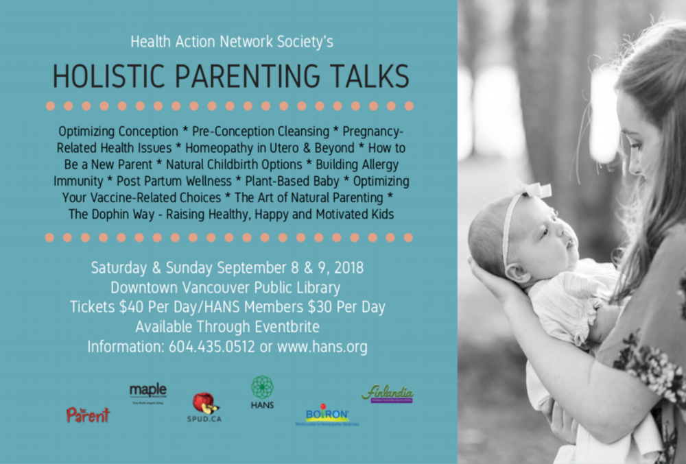 Join Dr. Peltz at the Holistic Parenting Talks Sat. Sept 8th 2018  - She will be discussing common pregnancy related complaints, see you there!