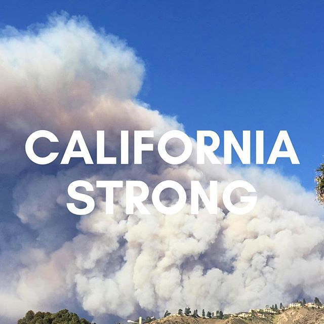 Our thoughts and prayers are with the victims of the recent California Fires ✨ Stay Strong