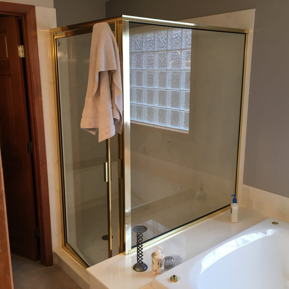 BEFORE-tub and shower
