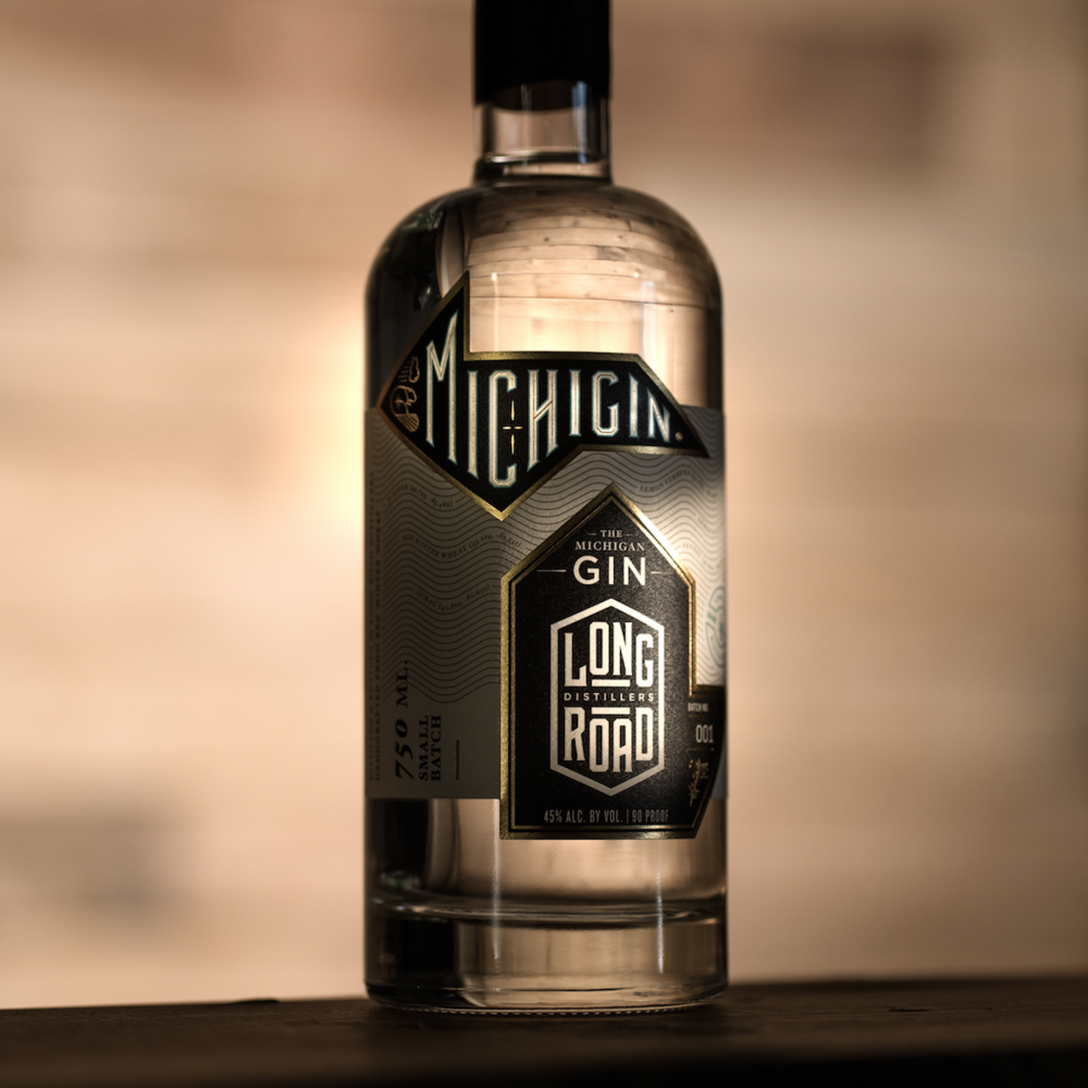 Not a typo. - Michigin – The Michigan Gin – was an idea before it was a possibility. Juniper is a non-negotiable in gin, and mostly grows in the Pacific Northwest and areas of Europe. That's a problem when the goal is using Michigan-only ingredients.