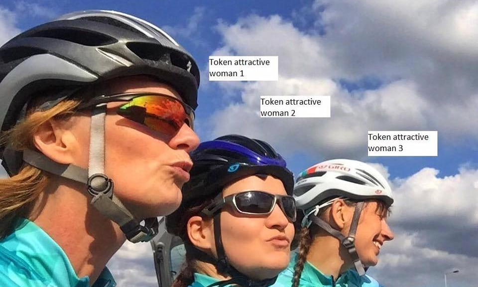 Token Attractive Females Troll Cycling Weekly