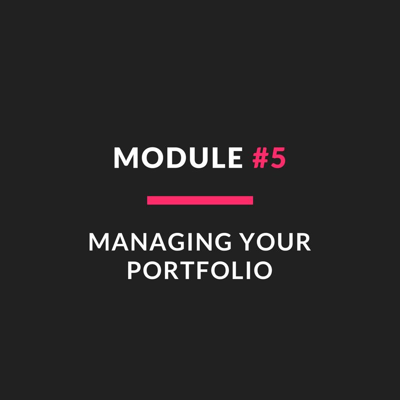 Module #5 - Managing Your Portfolio