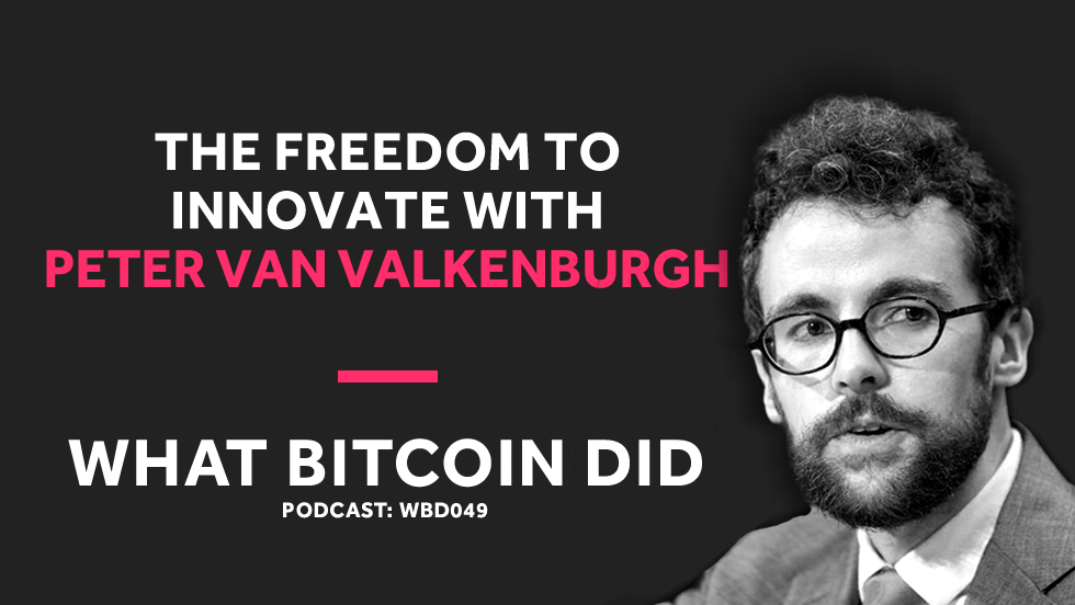 Coin Center's Peter Van Valkenburg on Preserving the Freedom to Innovate with Public Blockchains     NOVEMBER 21, 2018