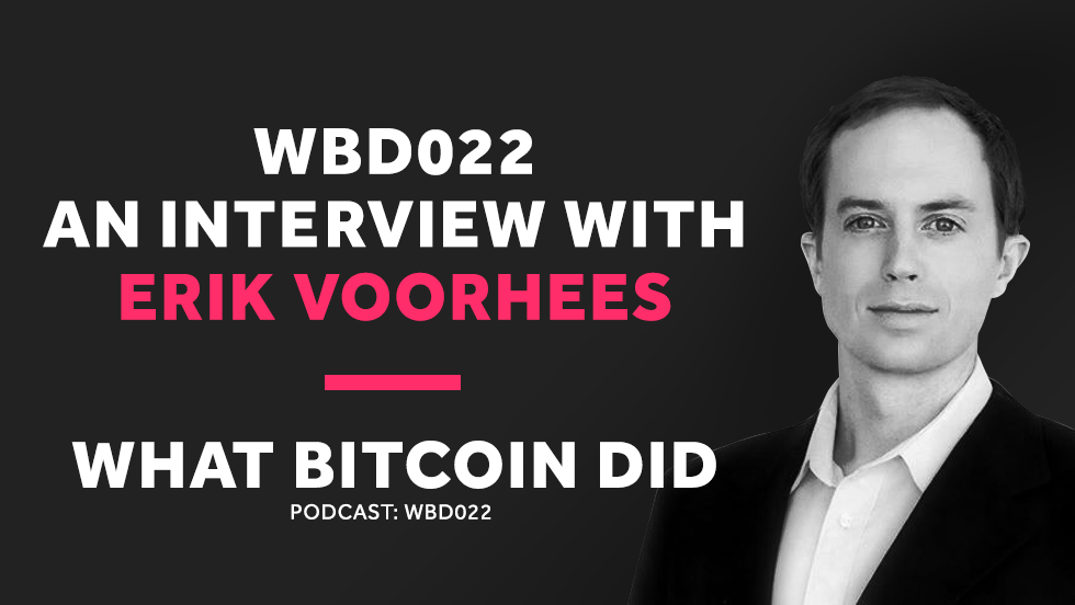 Erik Voorhees on Shapeshift User Accounts and the Problem with ICOs     JUNE 22, 2018