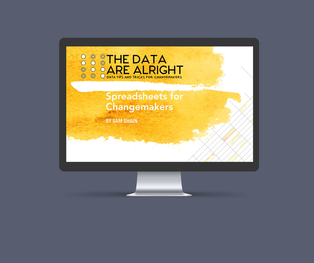 The Data Are Alright  - Change-Focused Data Blog, Digital Brand Refresh, Powerpoint Template