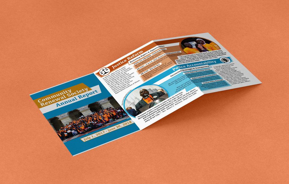 Community Renewal Society  - Annual Report