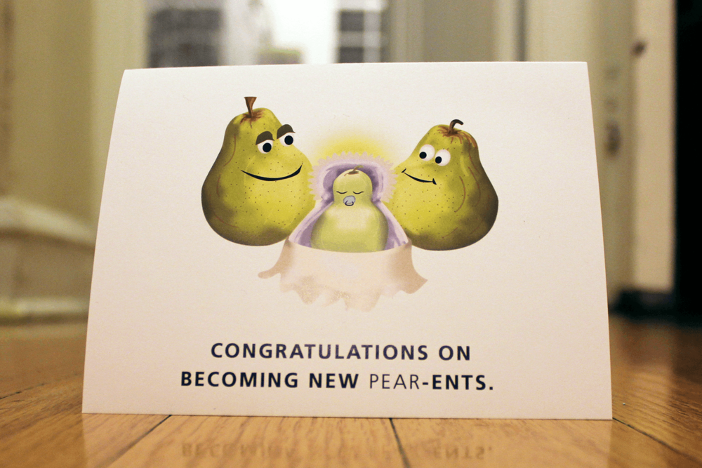 Grow Change Greetings  - Fruit & Vegetable Pun Greeting Card Line. Concept & Design