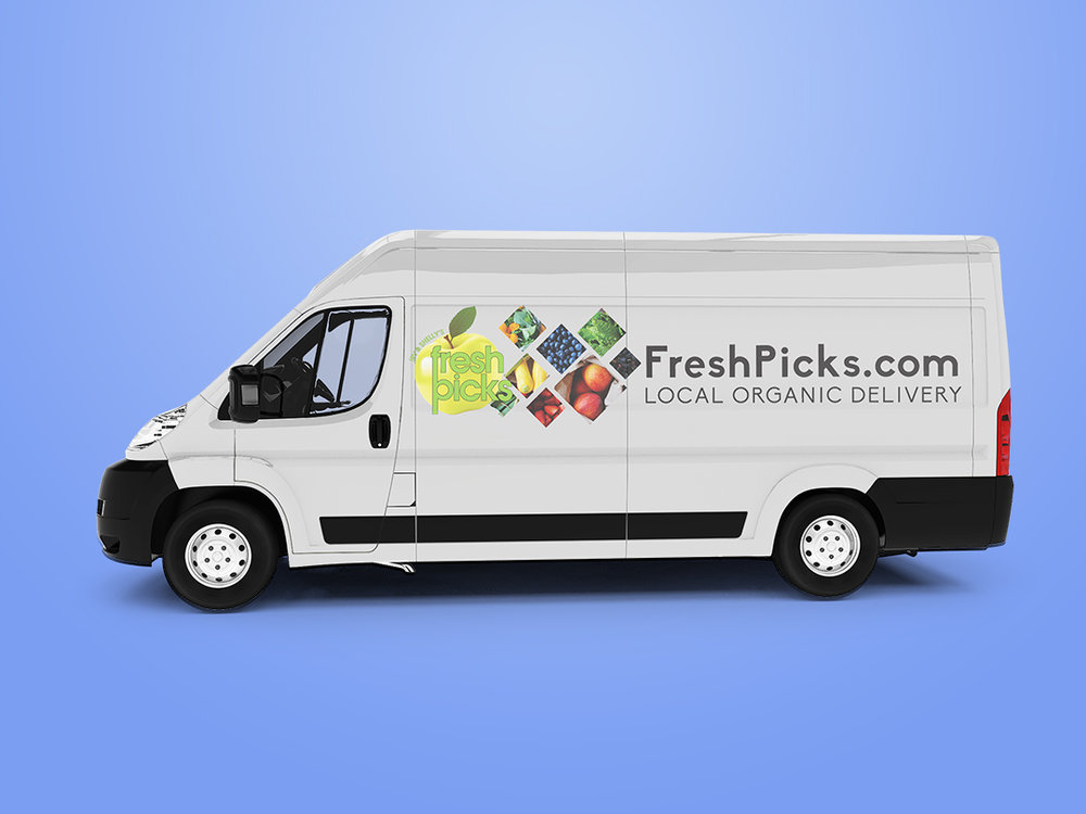Irv & Shelly's Fresh Picks  - Vehicle Graphics