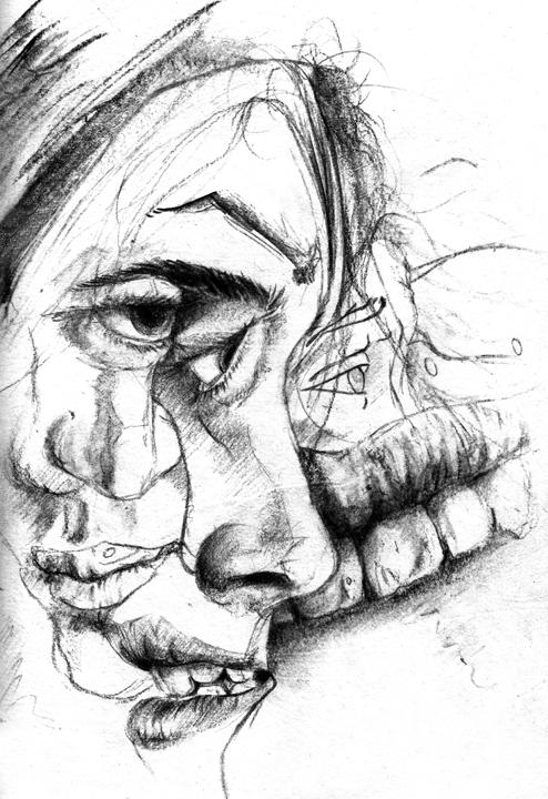 Aaron Earley Line Drawings