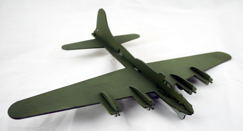 B17, slot-together model