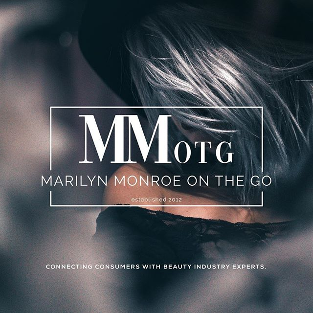 Vogue-inspired logo build for @marilynmonroeonthgo — a service that connects consumers + beauty industry experts 💇🏼‍♀️💅🏽💆🏽‍♀️