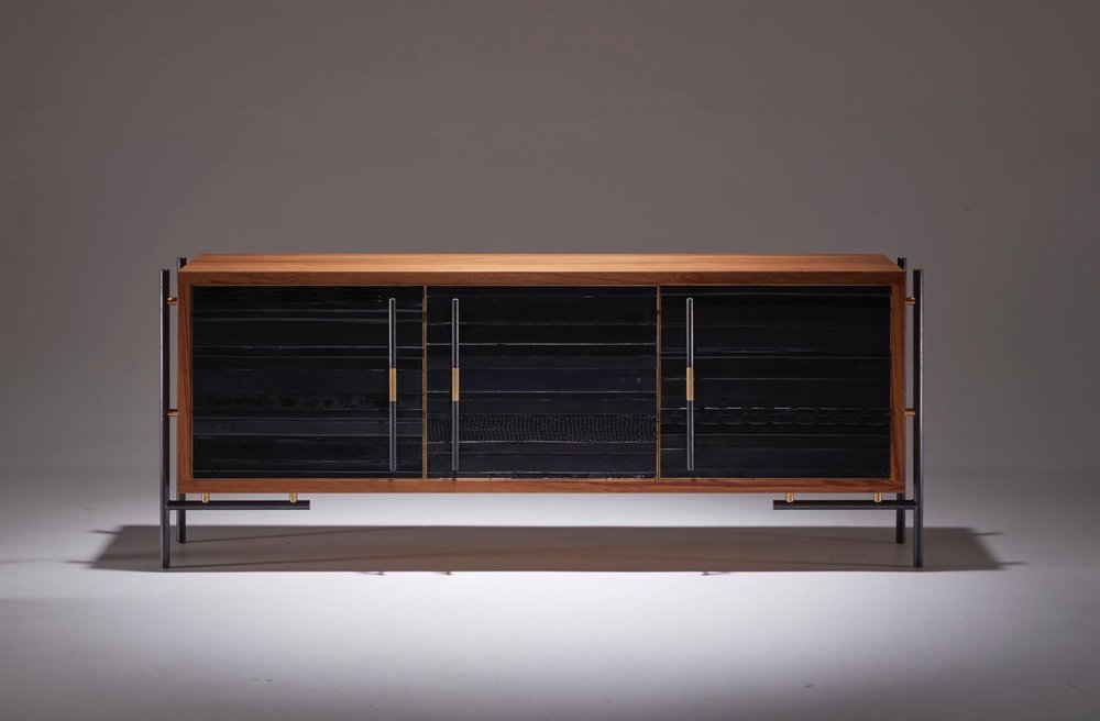 The ReLEATHERED Sideboard/Credenza