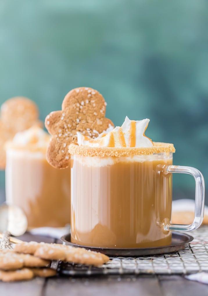 Classic Gingerbread Latte