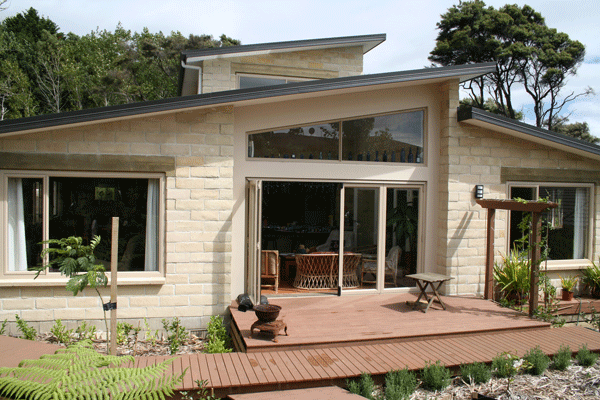 New Home - Timbercrete block