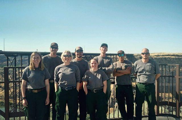 Crew 9🔥 . . . #perrinebridge #idaho #twinfalls #roadtrip #travel #fire #fireseason #crew #coconino #usfs
