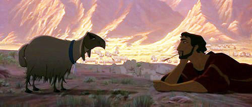 THE PRINCE OF EGYPT - Because it's streaming on Netflix now and that made all of my dreams come true.