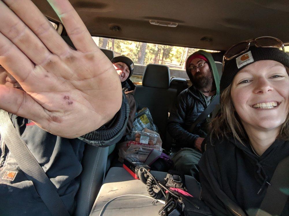 Crew Truck selfie