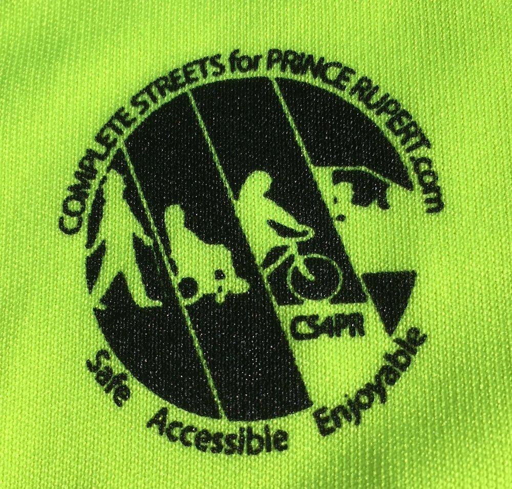 CS4PR's Logo on Race T-shirt