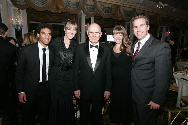 Ray, Emily, Elder Oaks and Dave and me
