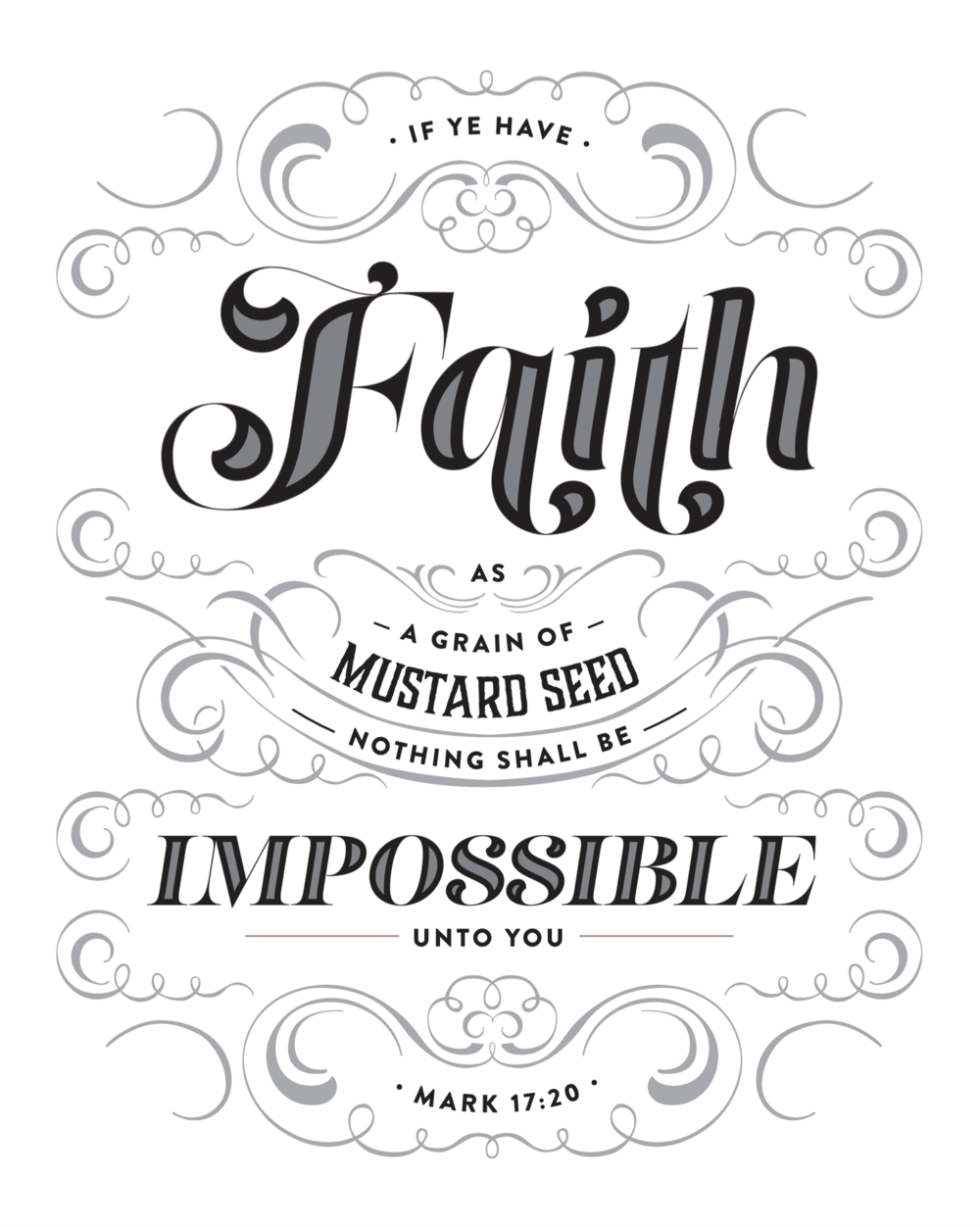 Faith As A Mustard Seed (black)