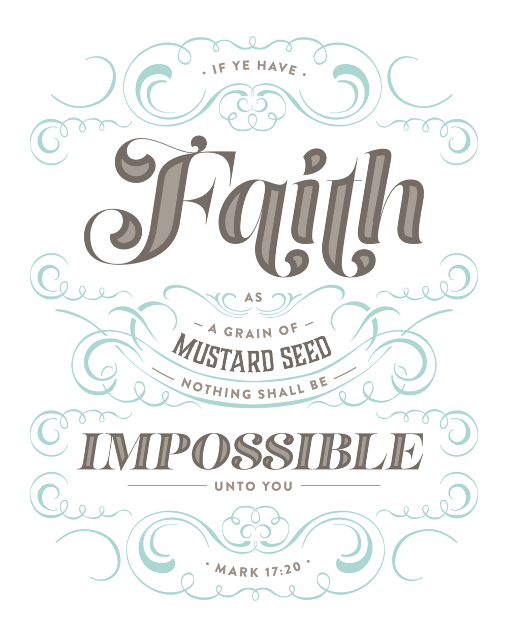 Faith As A Mustard Seed (mint)
