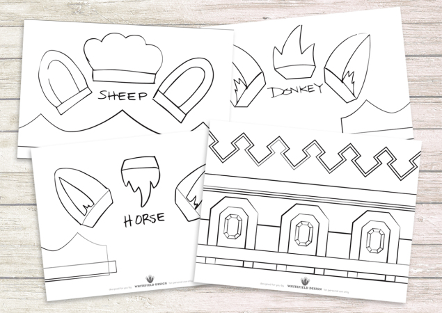 Nativity Costume Patterns, Pt. 1
