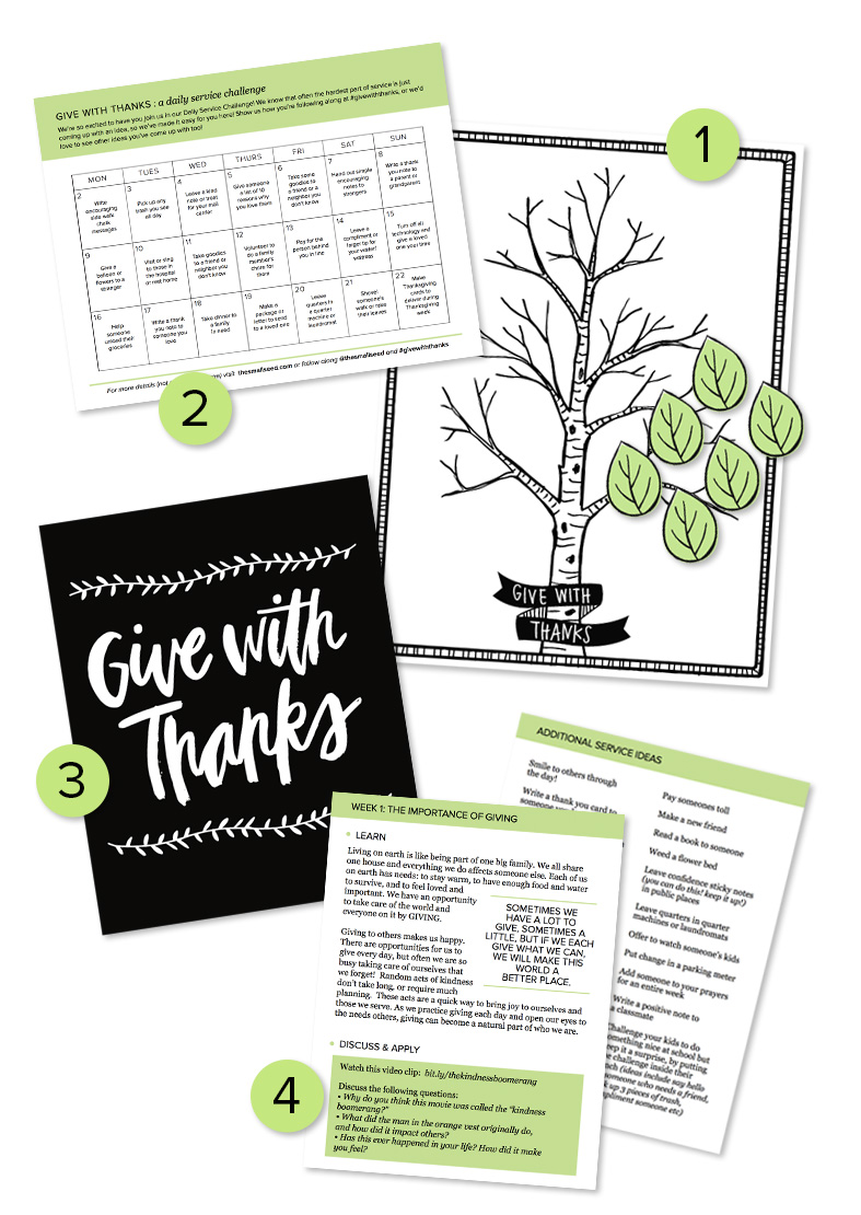 Give With Thanks (Packet)