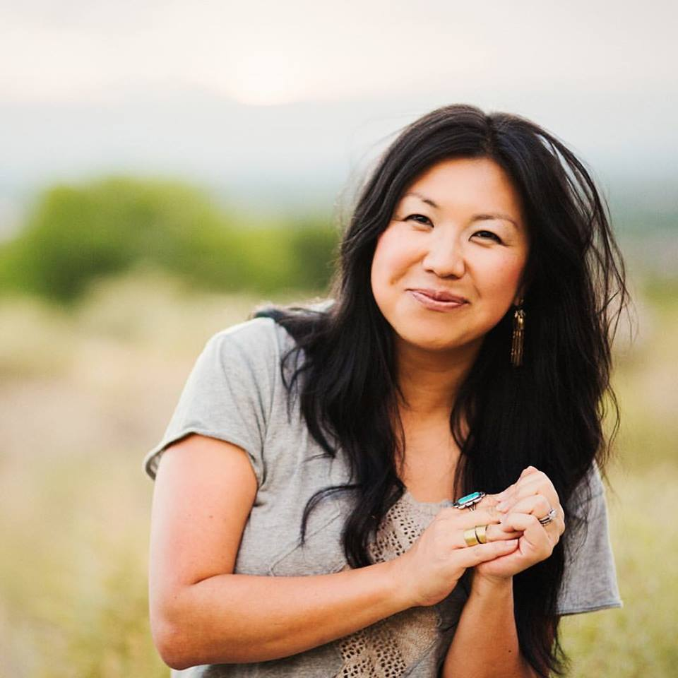 RUTH CHOU SIMONS - Ruth is a Chinese-American local artist and writer who lives in Los Ranchos, NM with her husband Troy and their six sons: Caleb, Liam, Judah, Stone, Asa, and Haddon. She's written at her website, GraceLaced.com, for the last 8 years, from where she's grown a thriving ministry and business centered around her drawings, paintings, and hand lettering. You can find her work in her shop, and follow more of her daily snippets over on Instagram .