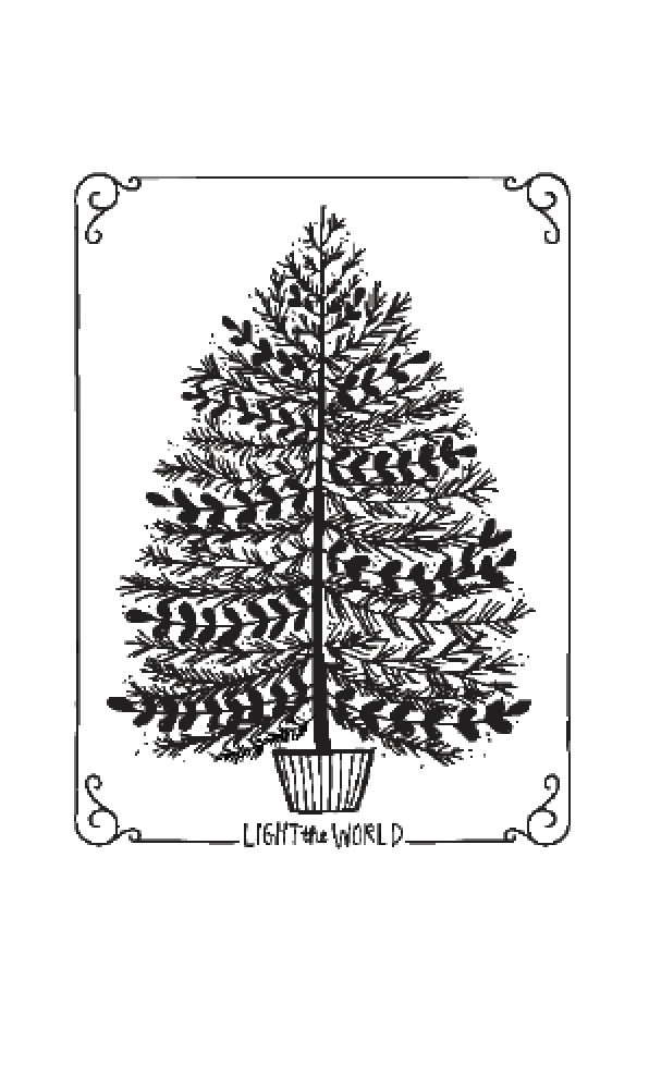 Christmas Tree (large format poster)