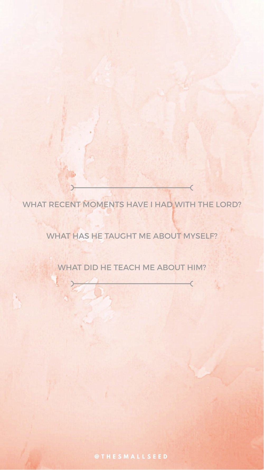 Moments With The Lord*