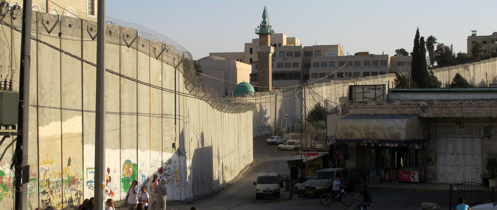 The Separation Wall. Image by Kent Jackson