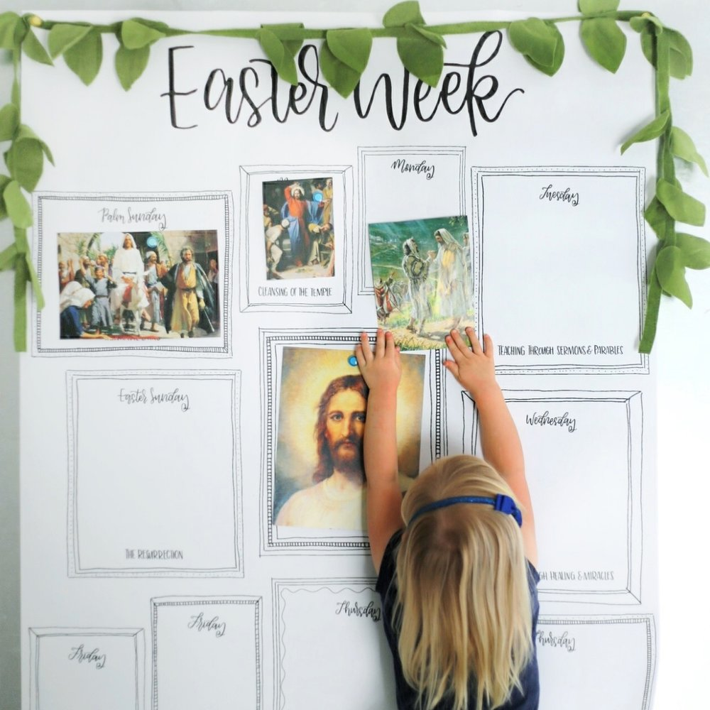 easter week (ENGLISH) -