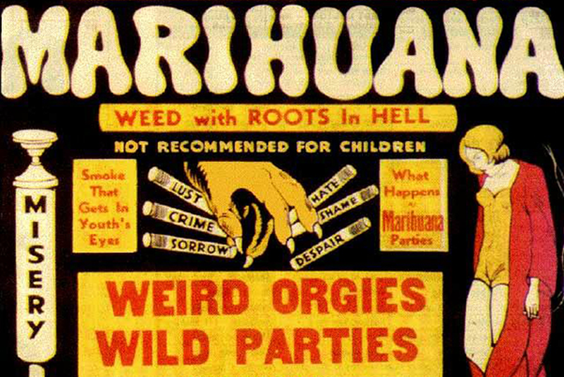 Propoganda used by the Federal Bureau of Narcotics was used to spread fear.