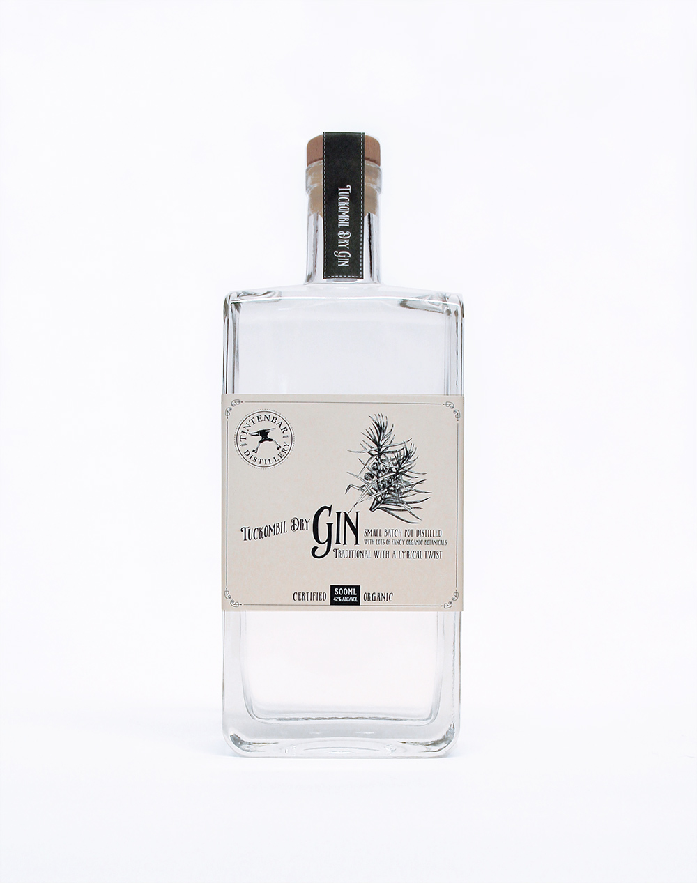Tuckombil Dry Gin 500ml product photo