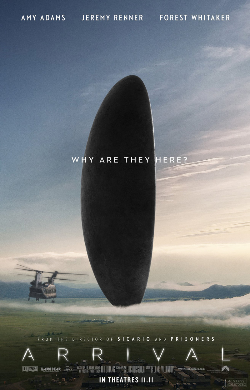 Arrival (2016) - Cameras by Camtec Motion Picture Cameras