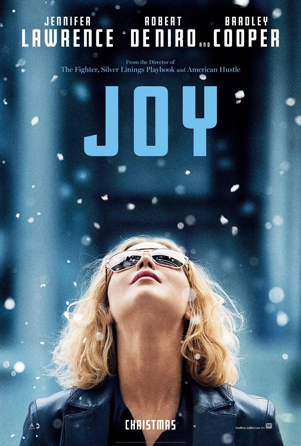 Joy (2015) - Cameras by Camtec Motion Picture Cameras