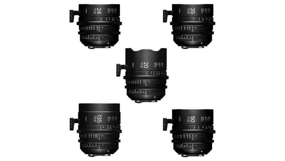 Sigma Full Frame Primes — Camtec